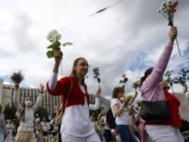 Proteste in Belarus: Maas will Druck auf Minsk erhöhen
