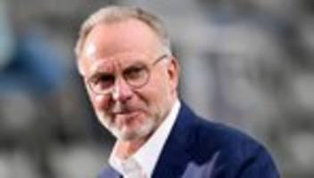 FC Bayern München: Rummenigge kündigt nach Rassismusvorwurf zeitnah Konsequenzen an