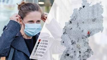 corona-pandemie: notbremse beim lockdown-exit: diese kreise und städte halten die obergrenze (nicht) ein