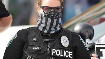 Florida: US-Sheriff verbietet Polizisten das Tragen von Masken im Dienst