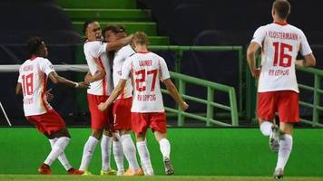 Jetzt geht's gegen Paris Saint-Germain: Last-Minute-Sieg gegen Atlético: RB Leipzig zieht ins Champions-League-Halbfinale ein