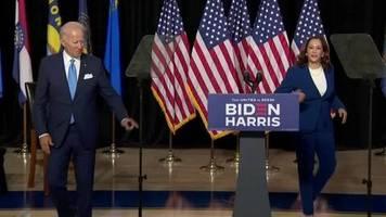 Video: Biden und Harris lassen kein gutes Haar an Trump