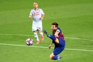 champions league: lionel messi ist barcelonas lebensversicherung