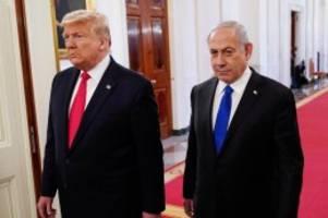 """Beziehungen: Trump: Israel und Emirate wollen Beziehungen """"normalisieren"""""""