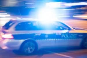 kriminalität: polizei nimmt gesuchten mann nach verfolgungsfahrt fest
