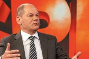 TV-Talk: Maischberger: Scholz traut sich Kanzlerschaft schon lange zu