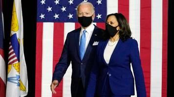 Maskenpflicht in den USA: Trump wirft Biden Politisierung der Corona-Pandemie vor