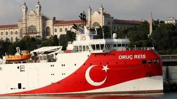 Gasvorkommen: Streit im Mittelmeer spitzt sich zu: Schiffe sollen kollidiert sein