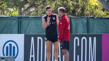 champions league: bayern-torminator lewandowski muss messi übertrumpfen
