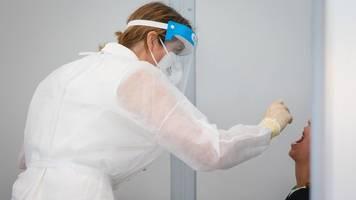 Corona-Tests im DRK-Testzentrum bisher reibungslos