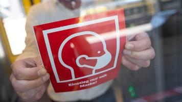 Polizei startet bayernweite Aktion zur Maskenpflicht im ÖPNV