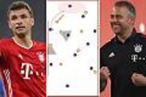 Champions-League-Viertelfinale - Pressingfallen werden Bayerns Schlüssel zum Sieg gegen Barcelona