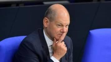Scholz sieht Bündnis mit Linkspartei skeptisch