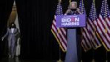 Coronavirus: Joe Biden spricht sich für landesweite Maskenpflicht aus