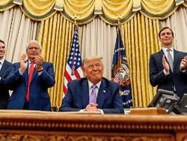 Friedensnobelpreis für Trump?: Die Nominierung hat er sich verdient