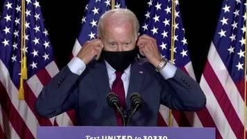 Nach 165.000 Corona-Toten: Im Gegensatz zu Trump: Joe Biden fordert landesweite Maskenpflicht in den USA