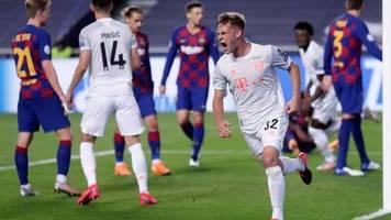 Torfestival in Lissabon: Einzug ins Champions-League-Halbfinale: Bayern nimmt Barça auseinander
