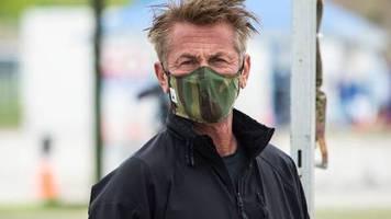 Corona-Hilfe: Sean Penn plant Promi-Spendenaktion