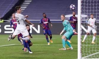 Fußball aus dem Lehrbuch: Bayern demütigt Barcelona