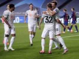Champions League: Bayern schießt acht Tore gegen Barcelona. Ja, acht
