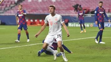 Champions League: Wir waren brutal dominant: Darum erinnert der Barca-Sieg Müller nicht ans 7:1 gegen Brasilien