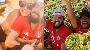 Sieg für FC Bayern München: Heidi Klum schaut das Bayern-Spiel - doch etwas scheint sie mehr zu freuen als das Ergebnis