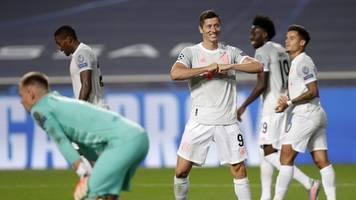 Champions League - Bayern-Gala gegen Barça: Acht Tore,  acht Fakten