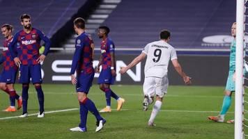 Champions League: FC Bayern überrollt FC Barcelona,  Müller mit Doppelpack