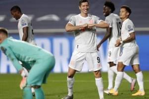 Bayern-Gala gegen Barça: Acht Tore, acht Fakten