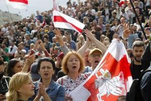 Proteste in Belarus: Das ganze Land steht hinter dieser Revolution