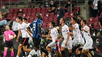europa league - keine fairness,  keine medaille:lukakus frust