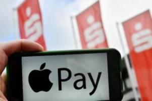 mit dem smartphone zahlen: apple pay für sparkassen-kunden auch mit girocard