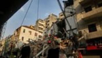 libanon: keine hoffnung mehr auf Überlebende nach explosion in beirut