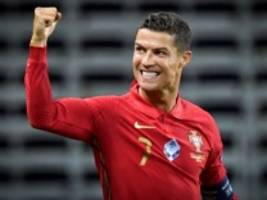 nations league: ronaldo knackt die 100-tore-marke