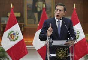 Perus Parlament stimmt für Amtsenthebungsverfahren gegen Vizcarra