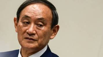 japans regierungspartei wählt yoshihide suga zum nachfolger abes an parteispitze