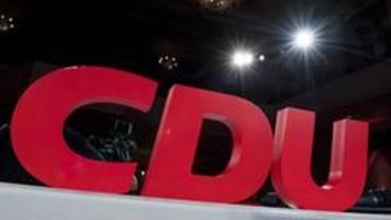 cdu-parteitag: per corona-notprogramm zum neuen chef