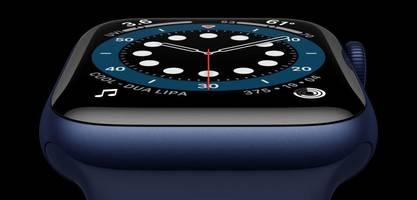 Apple Watch misst jetzt die Sauerstoffsättigung im Blut
