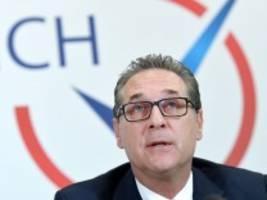 Österreich: Ermittler stellen Beweise gegen Strache sicher