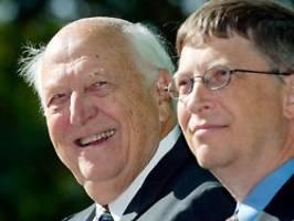 im alter von 94 jahren gestorben: bill gates trauert um seinen vater