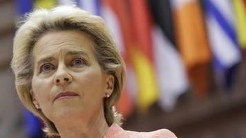 Von der Leyen will nach Pandemie-Problemen EU-Gesundheitsunion stärken