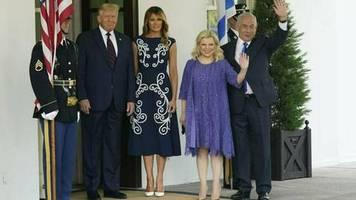 Melania Trump: Sie zieht in Prada alle Blicke auf sich