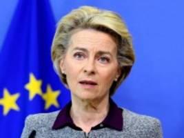 europäische union: von der leyen spricht zur lage der eu