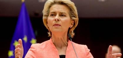 ursula von der leyen und die neue europäische union