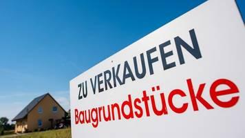 vor allem in städten: bauland in deutschland so teuer wie nie