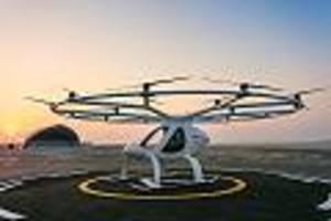 volocopter als lufttaxi - auf 1000 passagiere begrenzt: jetzt kann man die ersten lufttaxi-flüge buchen