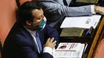 Die Pandemie macht Salvini zu schaffen