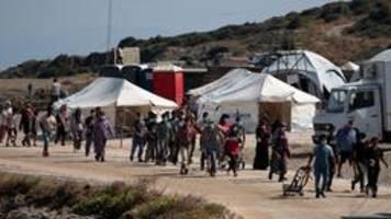 Flüchtlinge auf Lesbos: Sie tun uns leid, aber sie sollen gehen