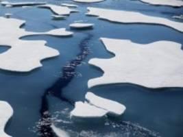 klimawandel: arktisches meereis erreicht zweitkleinste ausdehnung