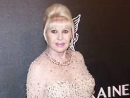 Ex-Frau des US-Präsidenten?: Ivana Trump disst First Lady Melania